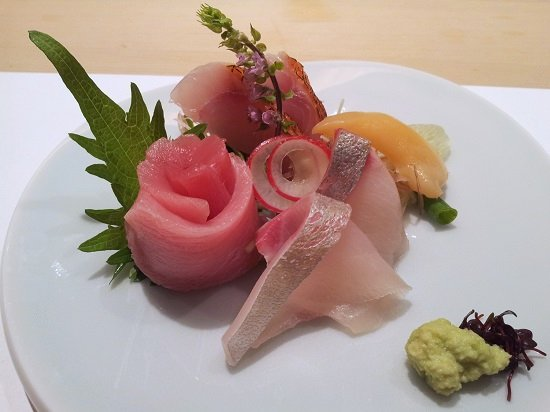 hashida sashimi platter