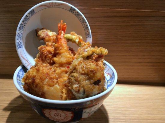TEMPURA KOHAKU Kohaku tendon spicy flavour
