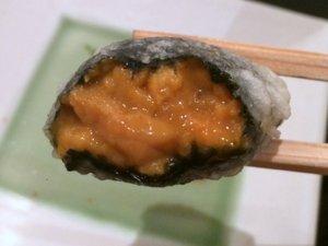 TENSHIN sea urchin tempura