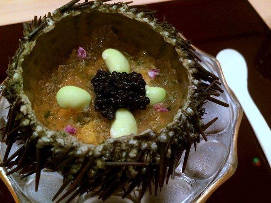 kisho Sea urchin with caviar