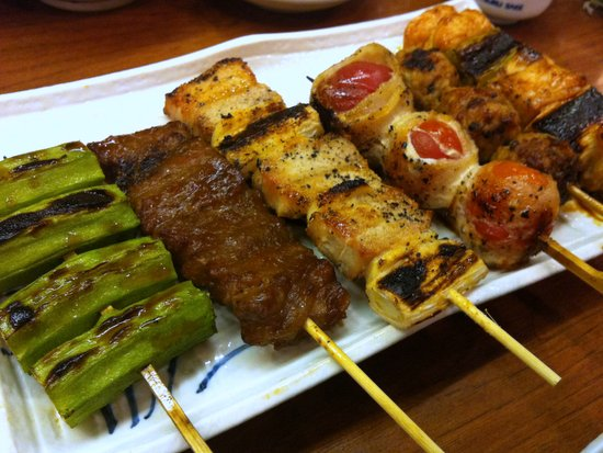 NANBANTEI assorted Yakitori sticks