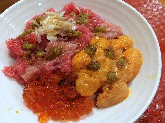 shiraishi Chirashi sushi