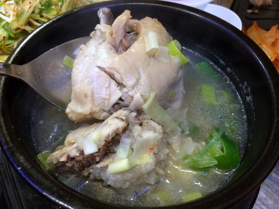 2 Half Ginseng Chicken Soup 17 Above Because This Was Under The Dinner Special Menu 1 Free Steamed Egg Was Given But Limited To 1 Per Table