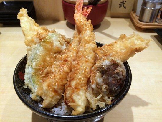 TENDON GINZA ITSUKI Tempura on rice