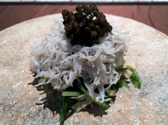 ryugin little silver fish dish