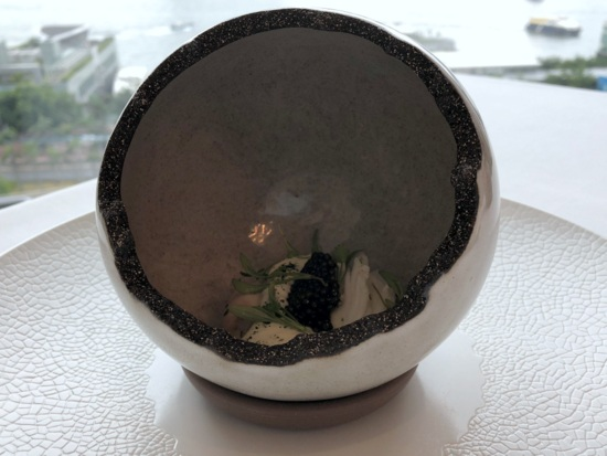 caprice king crab oyster and caviar
