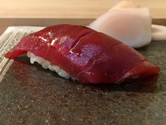 inomata marinated tuna sushi