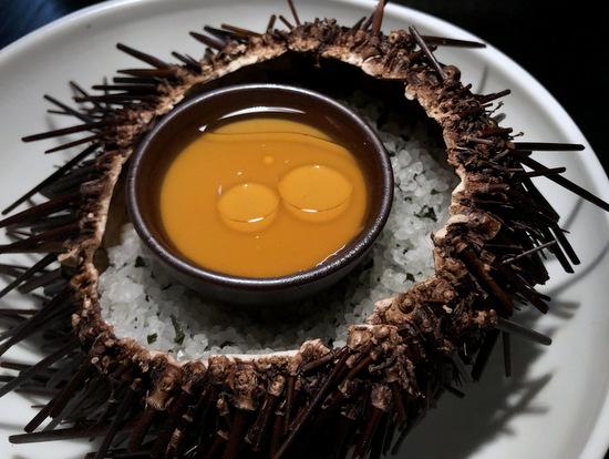 bentley sea urchin custard