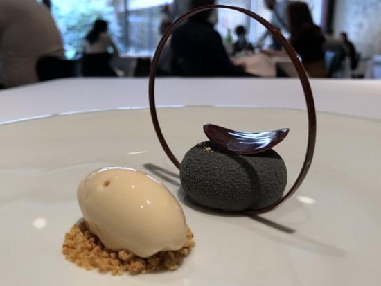 tetsuya chocolate stone dessert