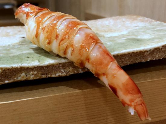 amamoto tiger prawn sushi